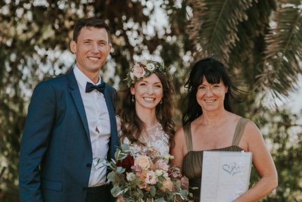 Ein gemeinsames Foto mit dem Brautpaar.