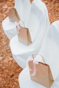 Individuelle Geschenke für die Hochzeitsgäste auf Mallorca.